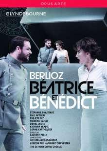 Hector Berlioz (1803-1869): Beatrice et Benedict, DVD