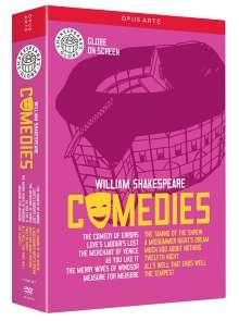 William Shakespeare: Comedies, 12 DVDs
