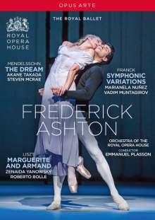 Frederick Ashton, DVD