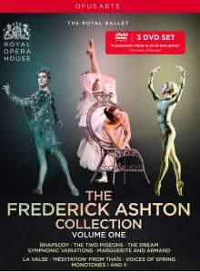 The Frederick Ashton Collection, 3 DVDs