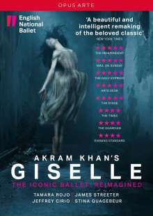 English National Ballet - Akram Khans Giselle, DVD