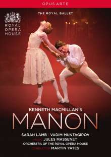 Kenneth MacMillans Manon, DVD