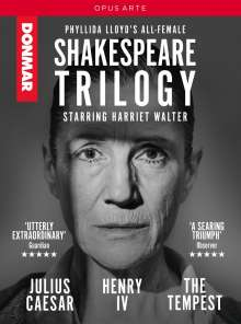 Phyllida Lloyd's All Female Shakespeare Trilogy, 3 DVDs