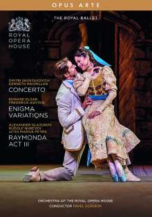 The Royal Ballet - Concerto / Enigma Variations / Raymonda (3.Akt), DVD