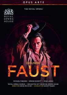 """Charles Gounod (1818-1893): Faust (""""Margarethe""""), DVD"""