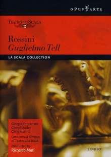 Gioacchino Rossini (1792-1868): Wilhelm Tell, 2 DVDs