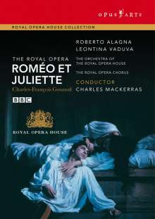 Charles Gounod (1818-1893): Romeo & Juliette, DVD