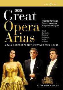 Great Opera Arias - Gala Concert from the Royal Opera House, DVD