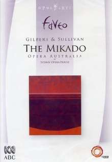 Arthur Sullivan (1842-1900): The Mikado, DVD