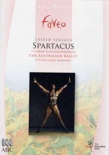 Australian Ballet:Spartacus (A.Khachaturian), DVD