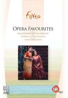 Opera Favourites, DVD