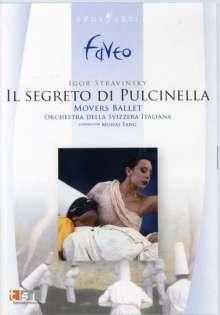 Movers Ballet - Pulcinella (Strawinsky), DVD