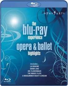 Opus Arte-Sampler - The Blu-ray Experience (Oper & Ballett), Blu-ray Disc
