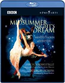 Pacific Northwest Ballet:Ein Sommernachtstraum (Blu-ray), Blu-ray Disc