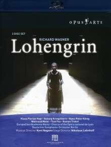 Richard Wagner (1813-1883): Lohengrin (Blu-ray), 2 Blu-ray Discs