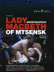 Dmitri Schostakowitsch (1906-1975): Lady Macbeth von Mtsensk, Blu-ray Disc