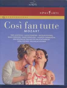 Wolfgang Amadeus Mozart (1756-1791): Cosi fan tutte, 2 Blu-ray Discs