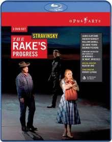 Igor Strawinsky (1882-1971): The Rake's Progress, Blu-ray Disc