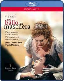 Giuseppe Verdi (1813-1901): Un Ballo in Maschera, Blu-ray Disc