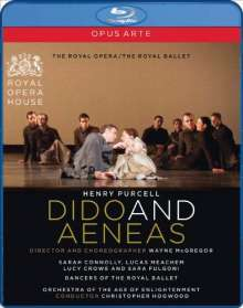 Henry Purcell (1659-1695): Dido & Aeneas, Blu-ray Disc