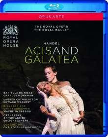 Georg Friedrich Händel (1685-1759): Acis und Galatea (Cannons Performing Version 1718), Blu-ray Disc