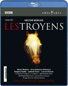 Hector Berlioz (1803-1869): Les Troyens, 2 Blu-ray Discs