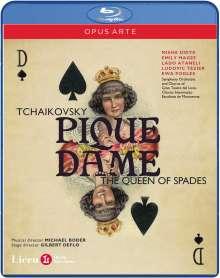 Peter Iljitsch Tschaikowsky (1840-1893): Pique Dame, Blu-ray Disc