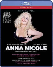 Mark-Anthony Turnage (geb. 1960): Anna Nicole, Blu-ray Disc