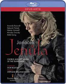 Leos Janacek (1854-1928): Jenufa, Blu-ray Disc