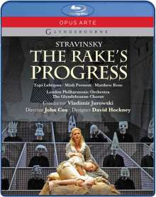 Igor Strawinsky (1882-1971): The Rake's Progress, Blu-ray Disc