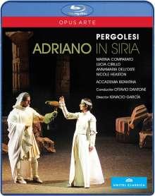 Giovanni Battista Pergolesi (1710-1736): Adriano in Siria, Blu-ray Disc