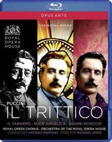 Giacomo Puccini (1858-1924): Il Trittico, Blu-ray Disc