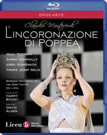 Claudio Monteverdi (1567-1643): L'incoronazione di Poppea, Blu-ray Disc