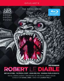 Giacomo Meyerbeer (1791-1864): Robert le Diable, Blu-ray Disc