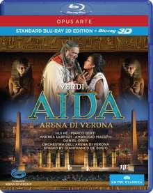 Giuseppe Verdi (1813-1901): Aida (2D & 3D), Blu-ray Disc