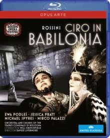 Gioacchino Rossini (1792-1868): Ciro in Babilonia, Blu-ray Disc