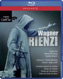 Richard Wagner (1813-1883): Rienzi, Blu-ray Disc
