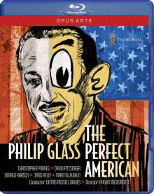 Philip Glass (geb. 1937): The Perfect American, Blu-ray Disc