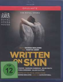 George Benjamin (geb. 1960): Written on Skin, Blu-ray Disc