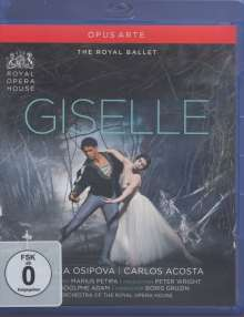 The Royal Ballet: Giselle, Blu-ray Disc