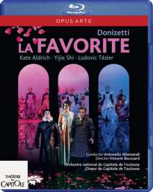 Gaetano Donizetti (1797-1848): La Favorita (Originalversion in französischer Sprache), Blu-ray Disc