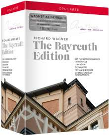 Richard Wagner (1813-1883): Richard Wagner - The Bayreuth Edition, 8 Blu-ray Discs