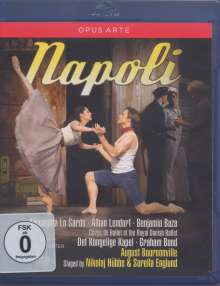 Royal Danish Ballet: Napoli, Blu-ray Disc