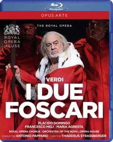 Giuseppe Verdi (1813-1901): I due Foscari, Blu-ray Disc