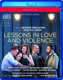 George Benjamin (geb. 1960): Lessons in Love and Violence, Blu-ray Disc