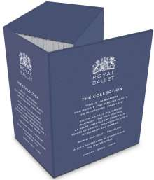 Royal Ballet Collection, 15 Blu-ray Discs