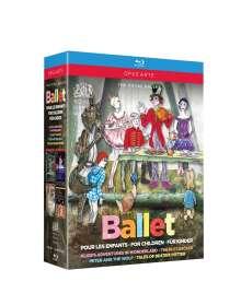 Royal Ballet Covent Garden:Pour les Enfants/For Children/Für Kinder, 4 Blu-ray Discs