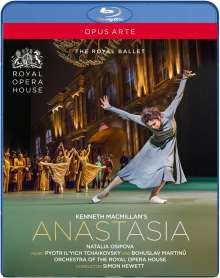 Royal Ballet Covent Garden - Kenneth MacMillan's Anastasia, Blu-ray Disc