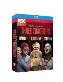 Three Tragedies, 3 Blu-ray Discs