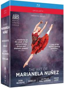 The Art of Marianela Nunez, 4 Blu-ray Discs